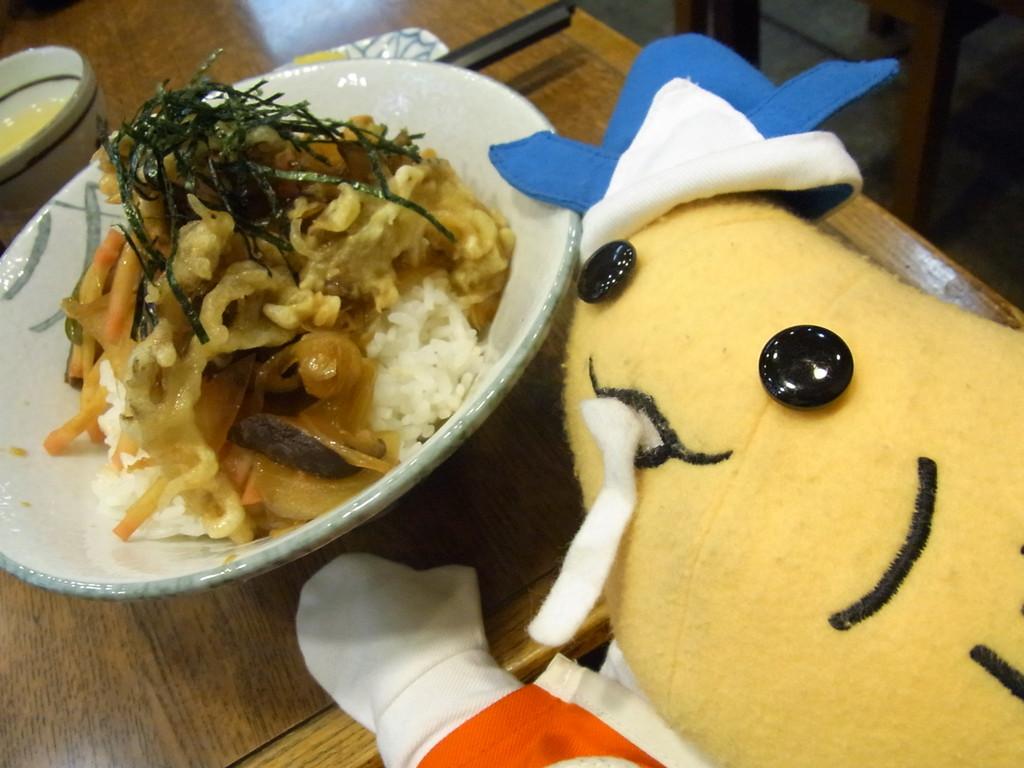 井口丼を食べたよ~!安くて美味しくて大満足。