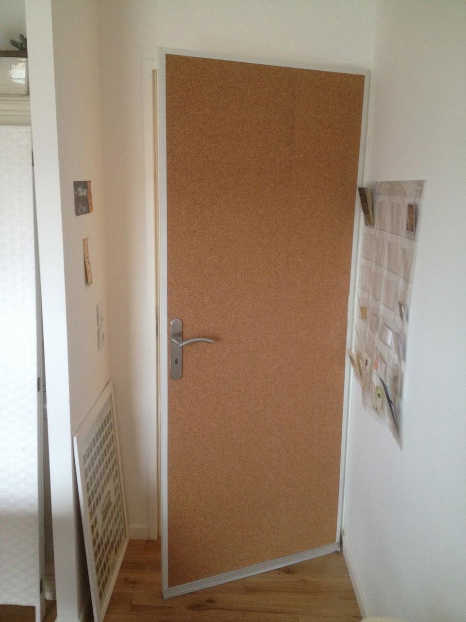 Renforcement d'isolation phonique d'une porte existante