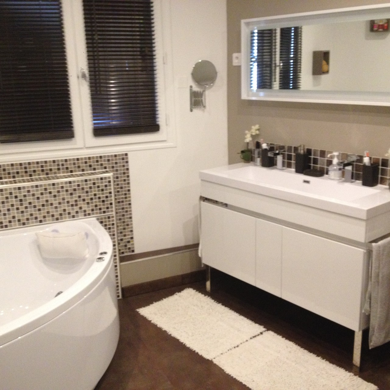 Réaménagement salle de bain