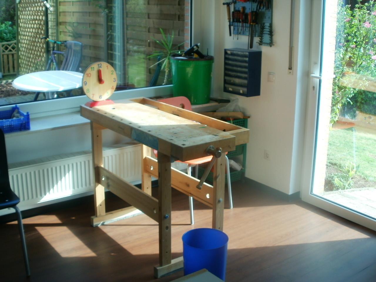 Die Werkstatt zur Förderung der Feinmotorik und Koordination