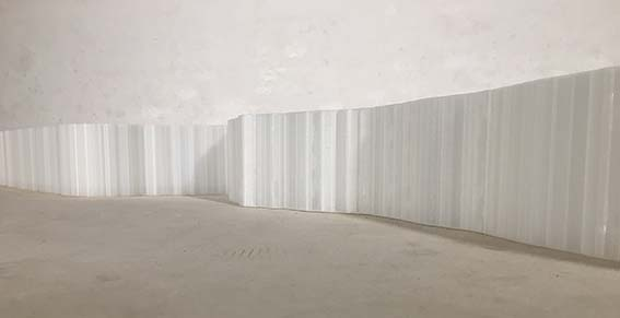 Beate Gärtner | Wegbeschreibung | 2019 | PLA Filament | ca. 10x430x100 cm