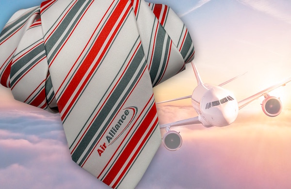 Krawatte Flugpersonal