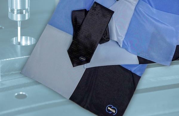 Krawatte und Tuch selber gestalten