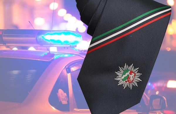 Polizei Krawatte