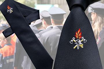 Corporate Fashion - Kleidung & Accessoires für Feuerwehr, Feuerwehrkrawatten - von Feld GmbH aus Krefeld