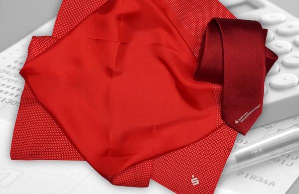 Krawatte und Tuch Business Set