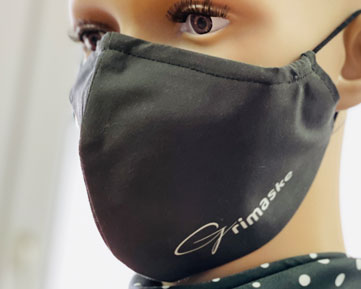 Medizinische Gesichtsmaske EN 14683:2019 von Feld Textil GmbH