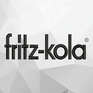 fritz-kola Stickerei von Feld Textil GmbH aus Krefeld