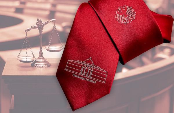 Krawatte für Behörden
