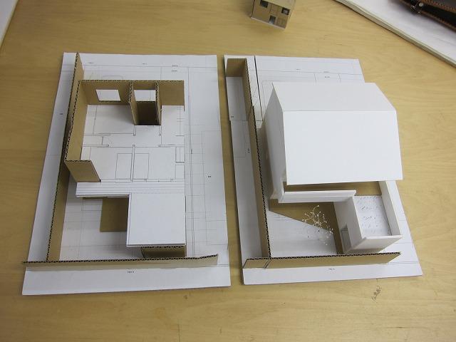 B案(左)とE案(右)の比較