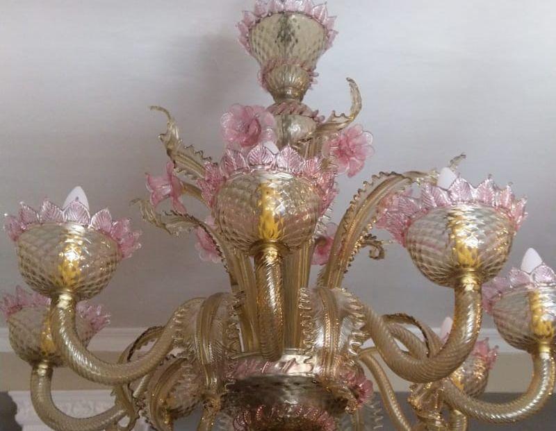 Perchè un lampadario di Murano ?