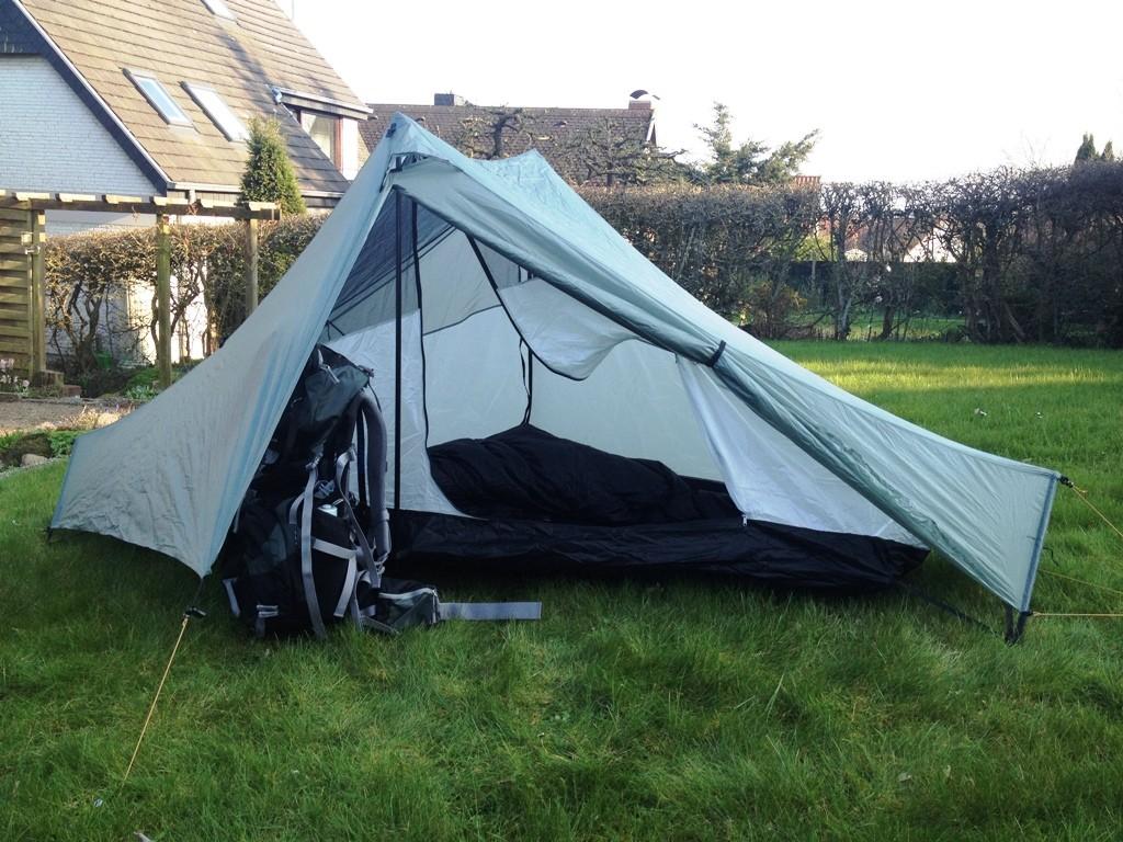 Welches Zelt ist das Richtige? Michael wandert durch Europa