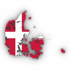 die dänische Nationalflagge: der Danebrog