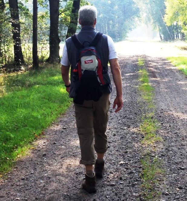 2015 - noch mit kleinem Gepäck unterwegs in Mitteldeutschland