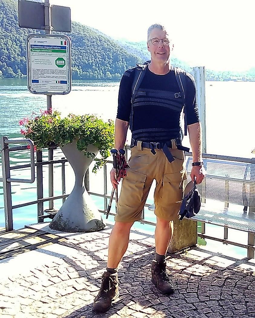 2017: am Luganer See ist die Schweiz durchwandert