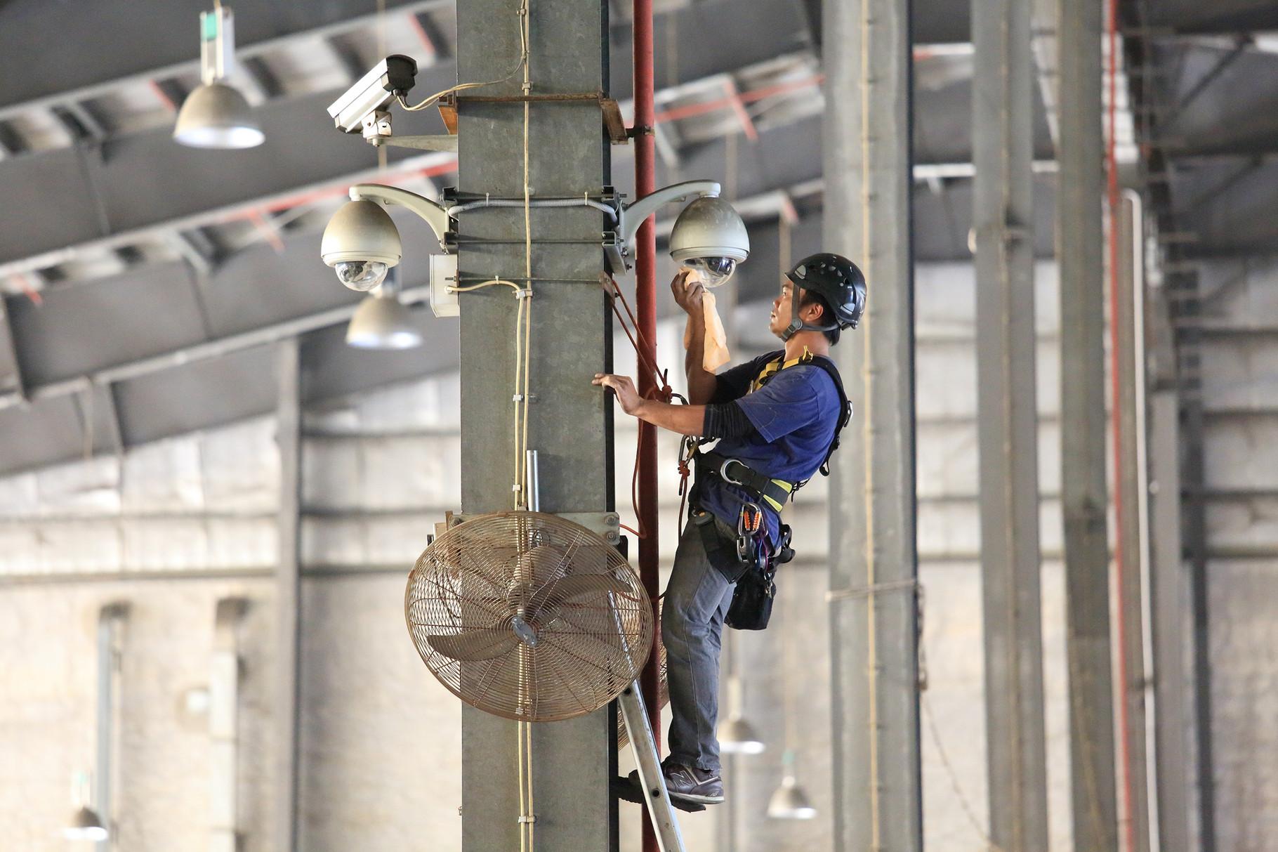 Menzies - CCTV Maintenance Works