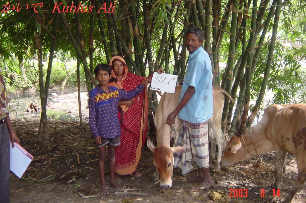 子牛のプロジェクト