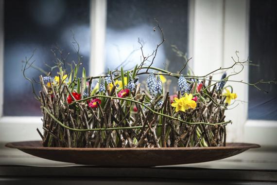 Backhaus kunst floristik Blumen flower ahornblatt gummersbach naturfloristik