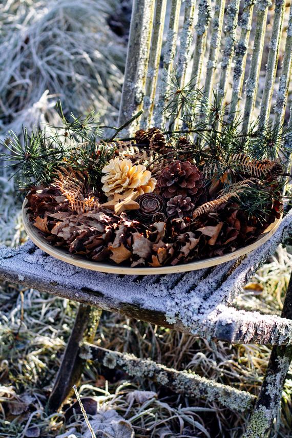 floristk winter kranz landart gummersbach ahornblatt backhaus frost