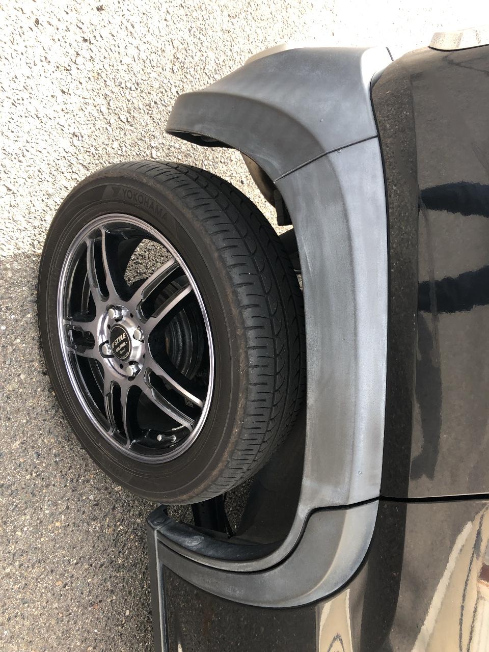 自動車の未塗装部品の劣化