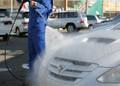 自動車の洗車に