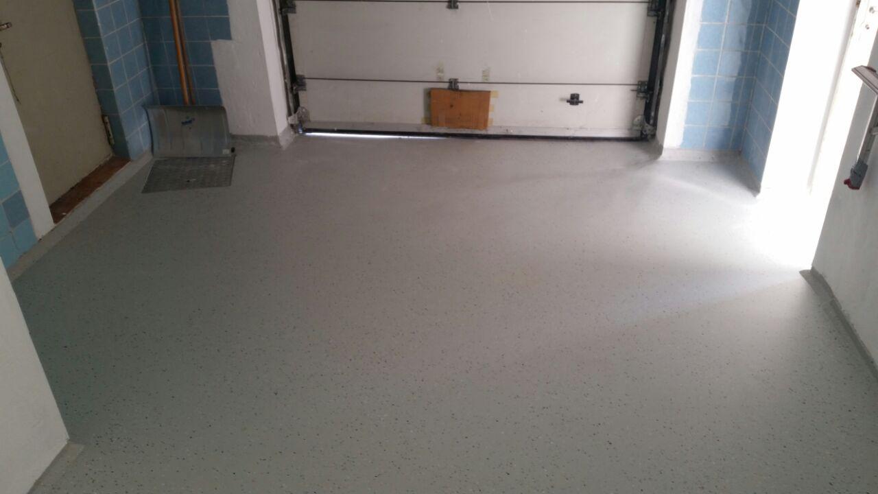 Bodenbeschichtung Garage - Mario Bogisch Bausysteme