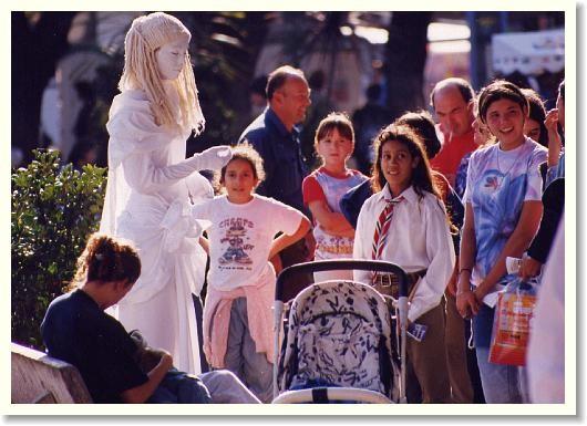 Estatuas Vivientes factoría del espectaculo