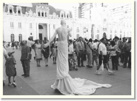 Estatuas Vivientes Barcelona