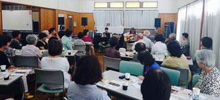 福岡市内の公民館にて地域イベント