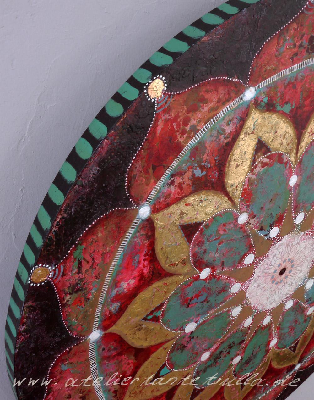 """Boho-Mandala"", www.ateliertantetrulla.de"