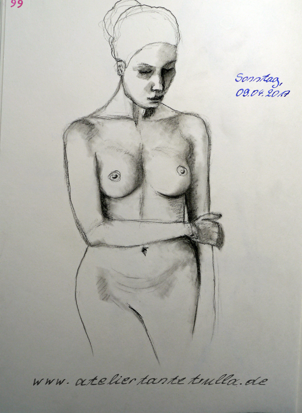 daily figuredrawing Conni Altmann