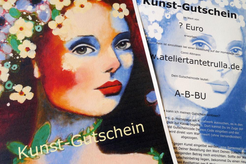 Kunst-Gutschein Atelier Tante Trulla