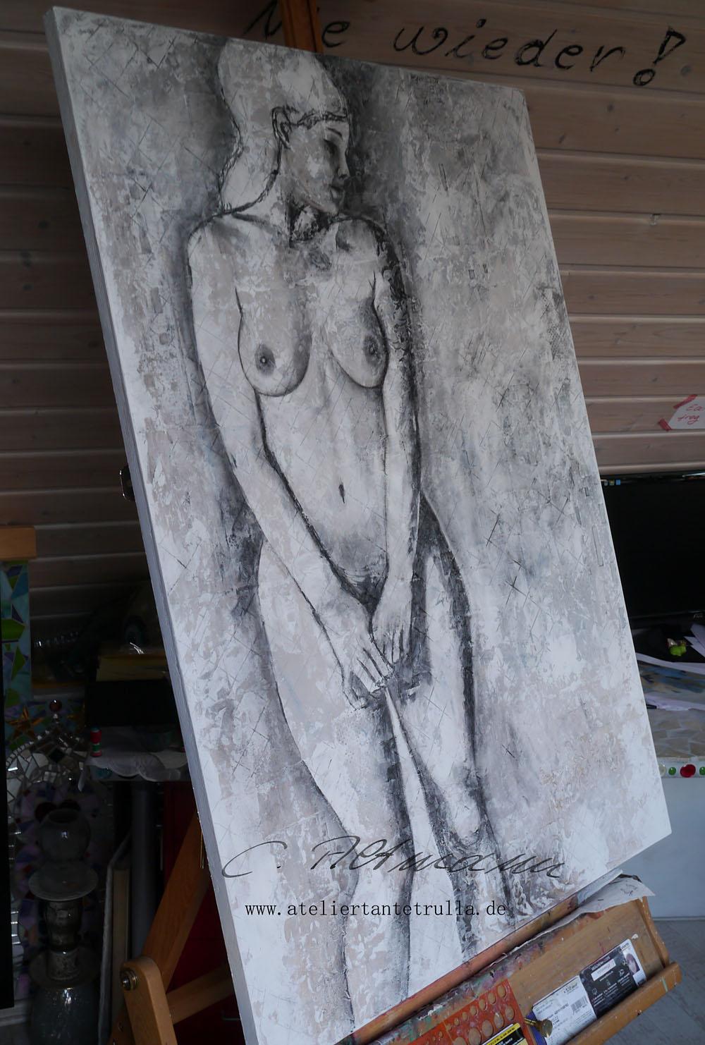 aktmalerei, aktgemaelde, wip, www.ateliertantetrulla.de