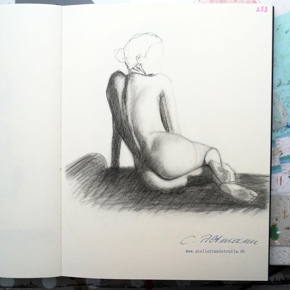 Aktzeichnung 253/365 Conni Altmann
