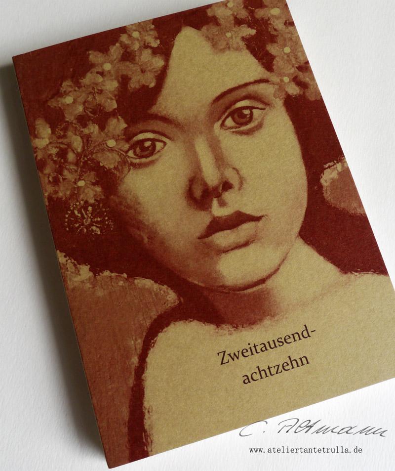 Wochenplaner 2018 für Traveler's Notebooks www.ateliertantetrulla.de