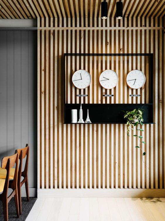 Houten Panelen Wanddecoratie.Een Wand Bekleden Met Hout Wonen Co Stedsk Voor Duurzaam