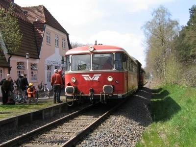 Mit dem Moorexpress nach Worpswede