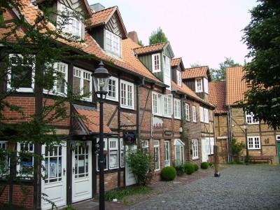 Die Altstadt von Buxtehude