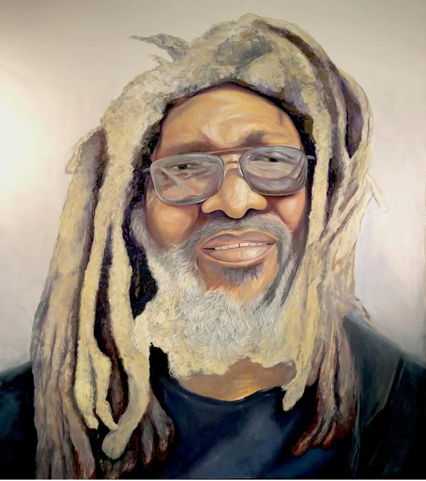William   oil on canvas by Ron Ladzinski   68 x 60 in.      $4000