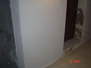 Keller-Trockenlegung mit Sanierputzsystem