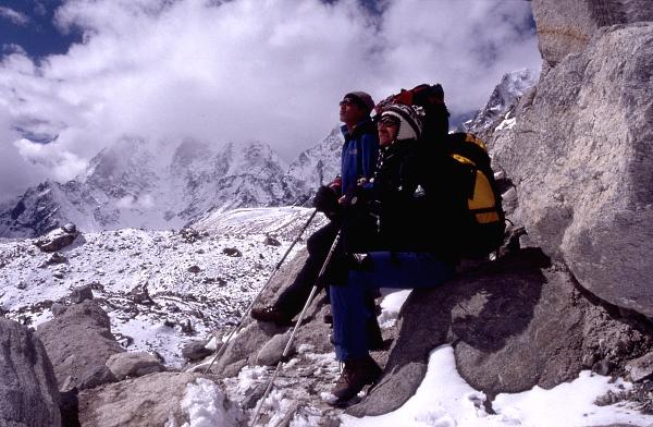 Reisefotograf/Träger/Nepal