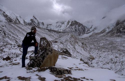 Reisefotograf-Juergen-Sedlmayr-Schneefall/Nepal