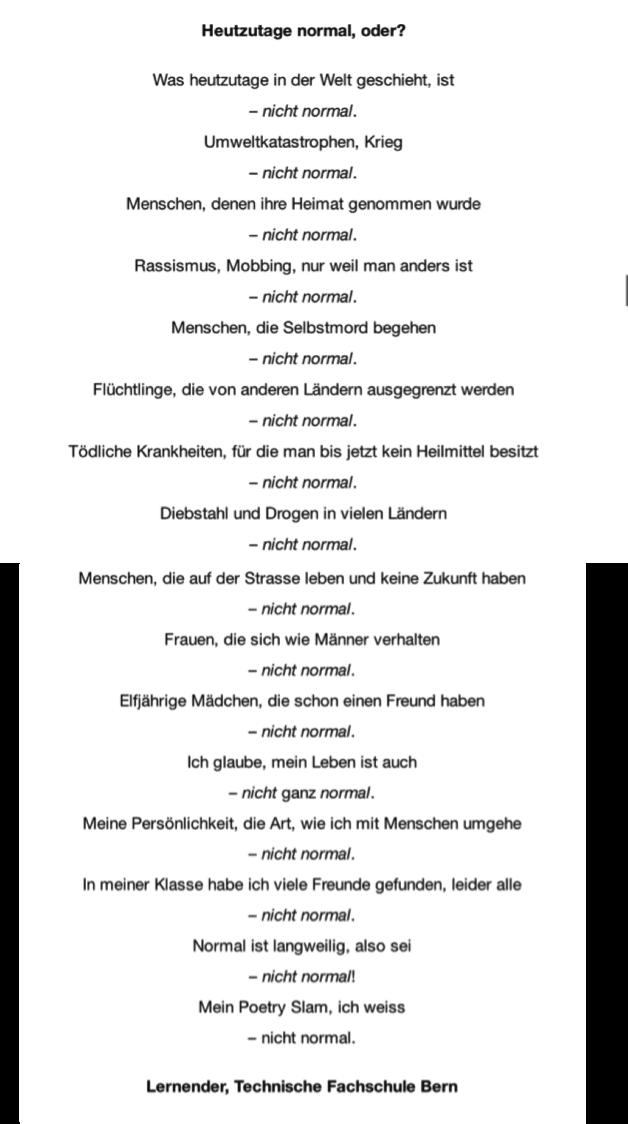 Poetry Slam Norden Text