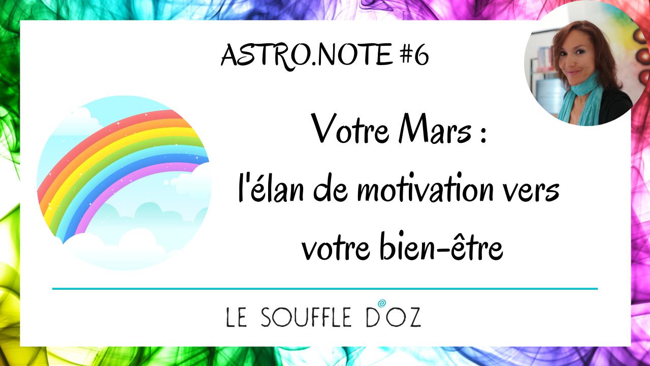 Votre Mars : l'élan de motivation vers votre bien-être