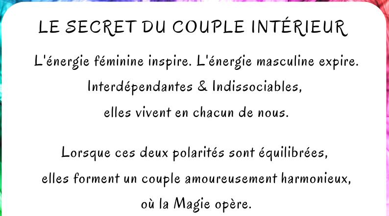 Le secret du Couple Intérieur
