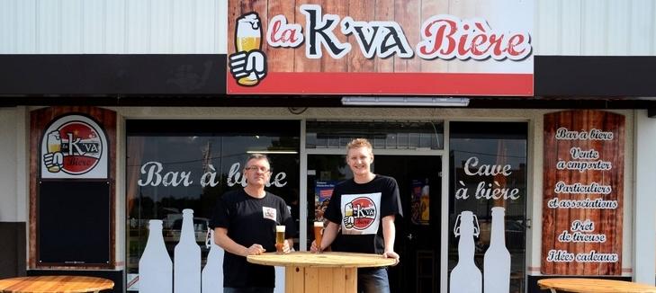 Philippe et Théo Pouilloux - la K'va Bière