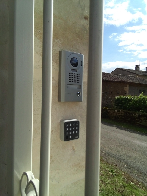 installation interphone video