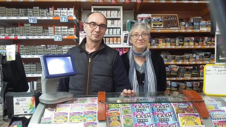 Catherine et Bruno - Tabac Presse