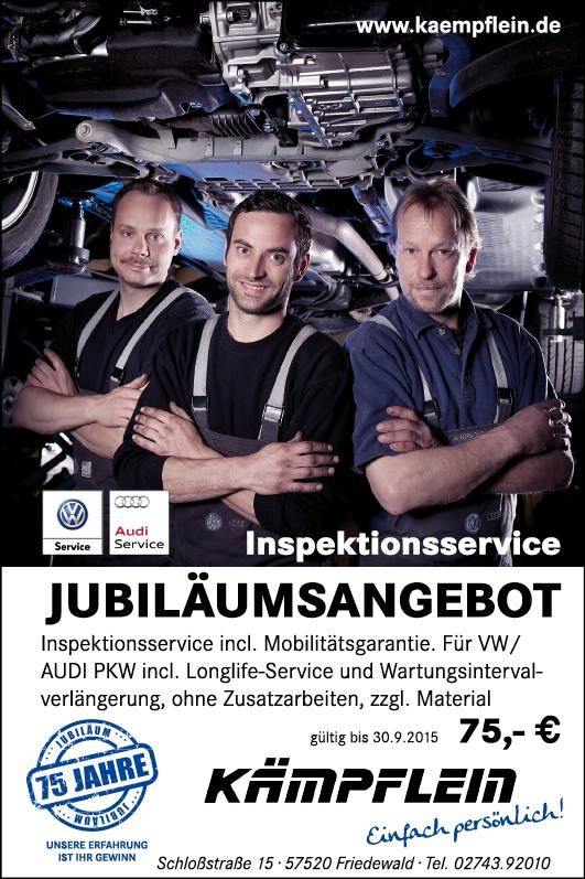Anzeige für Tageszeitung DIN A6