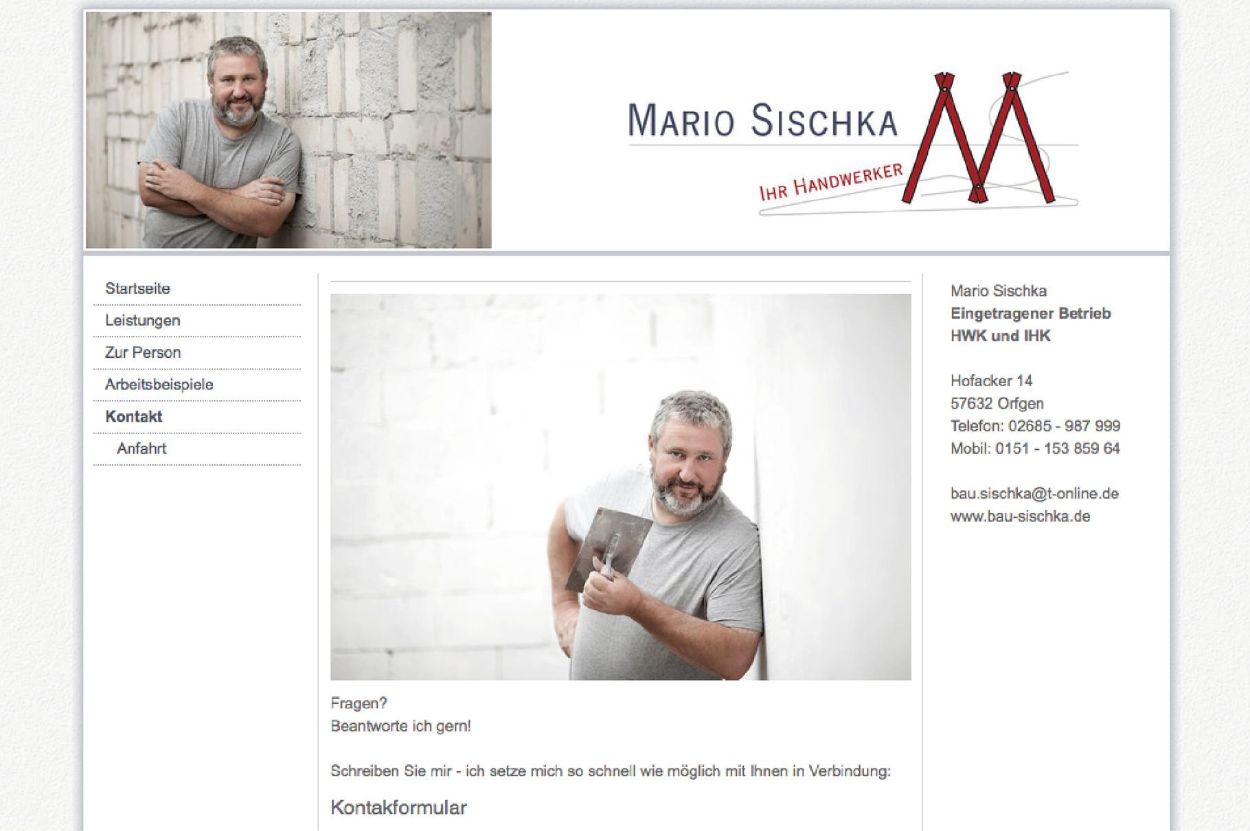 Per Klick zur Homepage